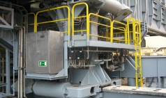 Gran cilindro hidráulico de deslizamiento