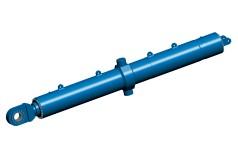 Gran cilindro hidráulico para puentes basculantes