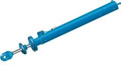 Gran cilindro hidráulico para desagües de fondo