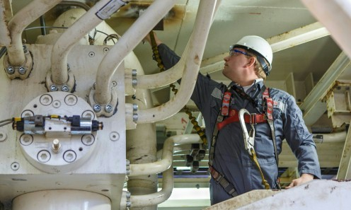 Servicio de campo para grandes cilindros hidráulicos