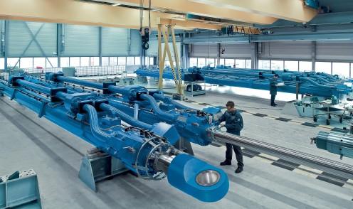 Grandes cilindros hidráulicos para aplicaciones offshore
