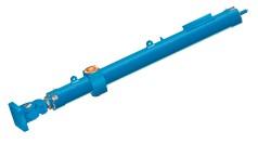 Gran cilindro hidráulico para compuertas de esclusas