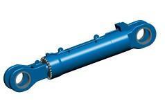 Gran cilindro hidráulico para compuertas de cascos
