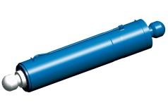 Gran cilindro hidráulico de empuje