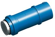 Gran cilindro hidráulico para prensas de forjar