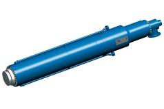 Gran cilindro hidráulico para prensas de placas